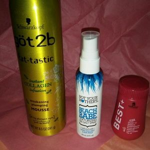 Schwartzkopf Big Hair Bundle NWOT
